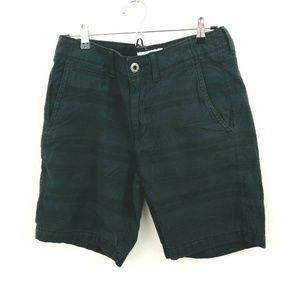 American Eagle Stripe Cotton Prep Shorts